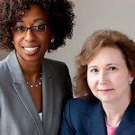 Staff Attorney Kay Harding (Left), Senior Staff Attorney Louise Carwell (Right)