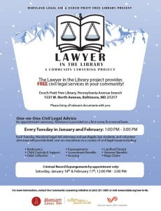 Lawyer in the Library - Jan Feb